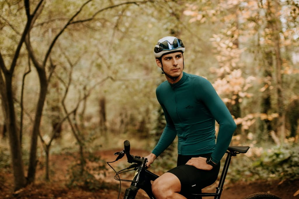 Men's Element Thermal Long Sleeve Cycling Jersey
